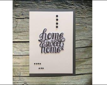 Handmade Greeting Card, Note Card, Single Greeting Card, Artisan Card, Artistic Card, Postcard