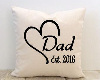 Father's Day Pillow Cover, Dad, Grandpa, Papa, Abuelo, Mom, Mother's Day, Grandma, Nana, Abuela, Step-Mom, Step-mother