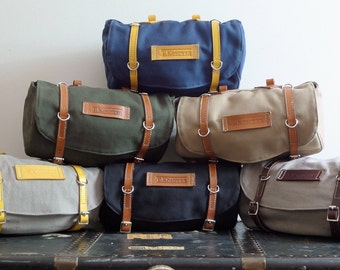 Classic Vintage Style Bicycle Bag (Ready to Ship)