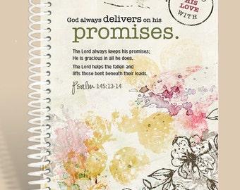 Journal / Personalized Notebook / Prayer Journal / Psalm 145/
