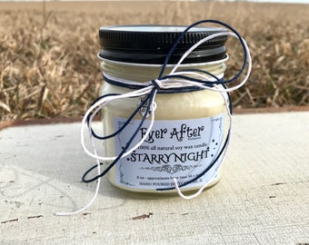 Starry Night - 100% All Natural Soy Wax Candle