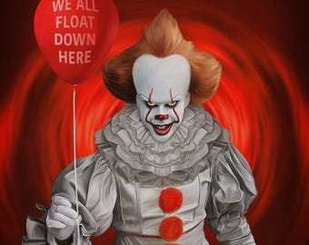 "It Pennywise 11""x14"" print"