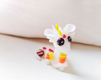 Miniature kawaii dragon