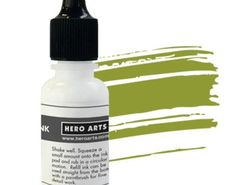 Hero Arts Moss Hybrid Reinker NK343