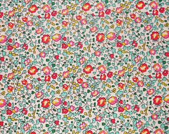 Liberty of London Tana Lawn Eloise in Blue Pink-- 1/4 Yard