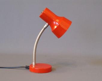 Vintage table lamp red desk lamp industrial table lamp vintage table lamp red desk lamp red table lamp retro desk lamp aloadofball Choice Image