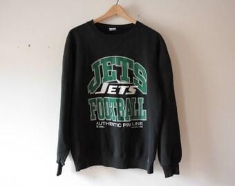 Jets football Russell Athletic sweatshirt USA made
