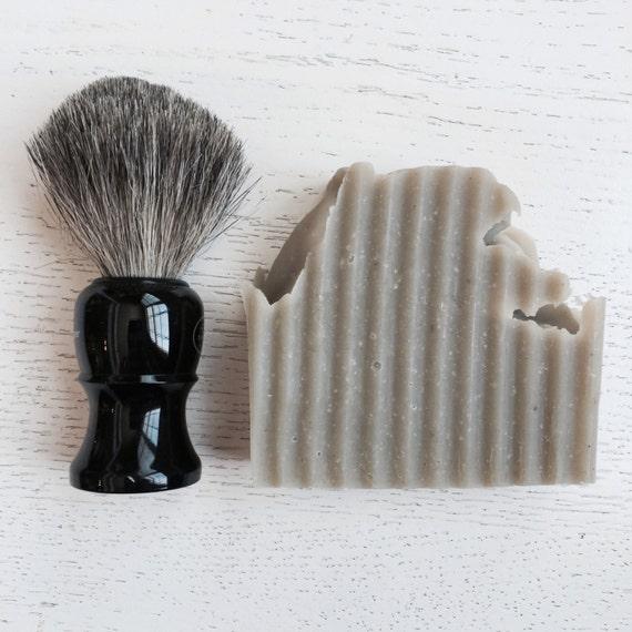Aloe and Clay SHAVING BAR - gift for him  - Men Bentonite Clay Shaving Bar - Shaving Bar - Aloe Vera - all natural