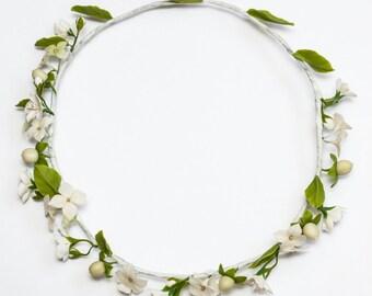 flower wreath, cold porcelain, cherry wreath, blue hydrangea, rustic girl, bridesmaids wreath, hydrangea wreath, white hydrangea, bride
