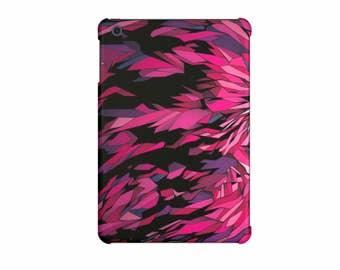 iPad case, iPad Mini 4 case, iPad Mini 3 case, iPad Air cover, iPad Air 2 case, iPad Pro 9.7 inch, iPad Pro 12.9 inch, art hard case - pink