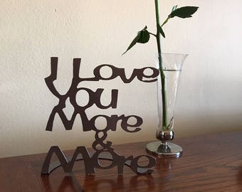 I Love You More & More