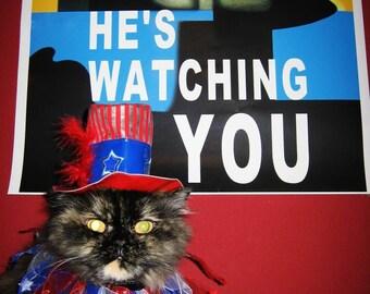 "He's Watching You 18x24"" wall poster"