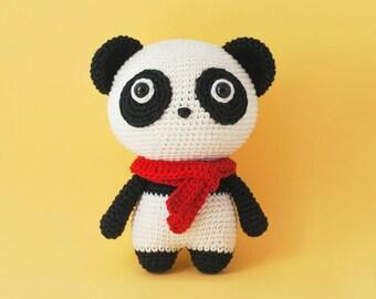 Momo the Panda Bear Amigurumi crochet pattern PDF