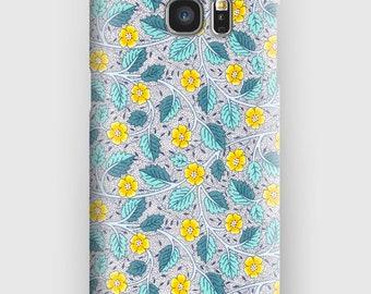 Case for Samsung S5, S6, S6 and S7, S7 + S8 S8 + A3, A5, J3, GP Note 4,5, 8, Bramble Blossom Liberty V