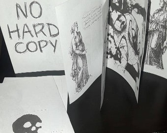 NO HARD COPY zine *free shipping*
