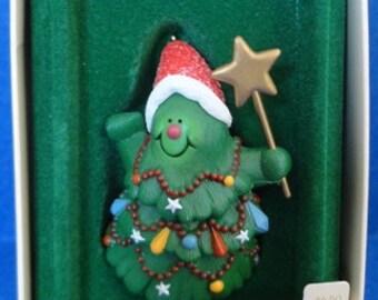 1982 Jolly Christmas Tree Hallmark Retired Ornament