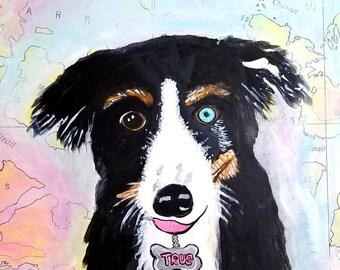 True the Rescue Dog - Print