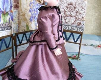 "PDF Pattern for 8"" French Fashion Doll Wardrobe Pattern"