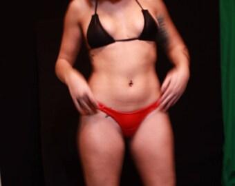 Custom desigened Bikini and top Special offered set