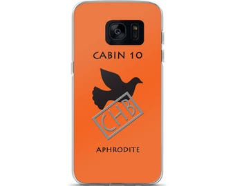 Camp Half-Blood Inspired Percy Jackson Cabin 10 Aphrodite Samsung Case