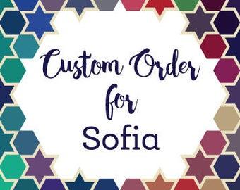 Custom Order for Sofia - Serenity Beauty Lounge Sign