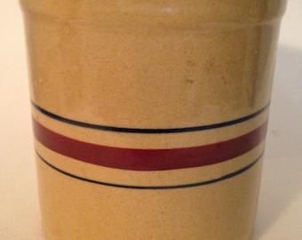 Vintage Crock Stoneware-Robinson Ransbottom--RPR Roseville Ohio-Rare