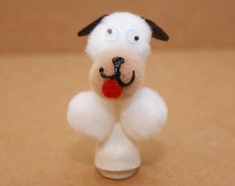 Poky Puppy Finger Puppet