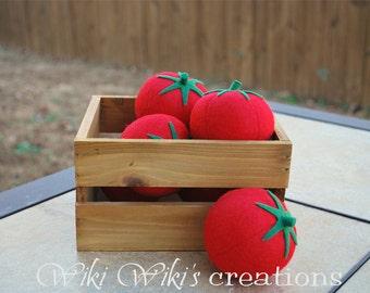 Felt Food Tomato