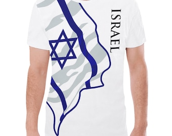 Israel Men's Classic Flag Tee 2.0