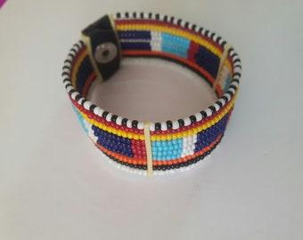 maasai bracelet / beaded bracelet / colourful bracelet