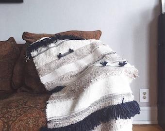 Hand Woven Blanket Throw