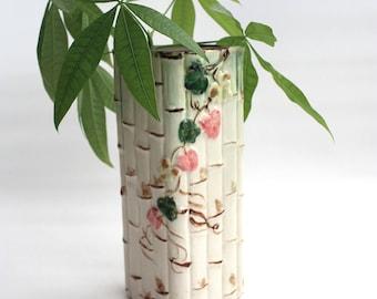 Vintage Shafford Ceramic Wall Pocket Planter