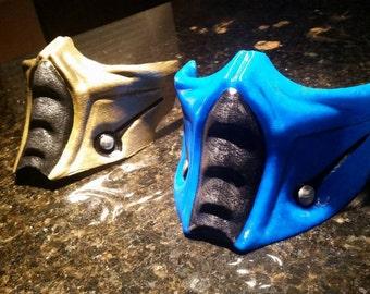 Mortal Kombat Sub Zero style mask