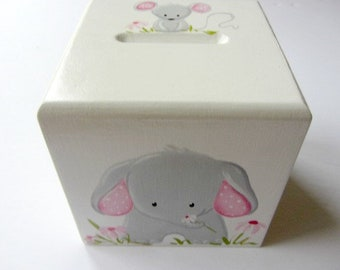 Animals, piggy bank, gift, baby, elephant,  coins