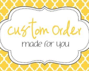 Custom Order Listing Andrea