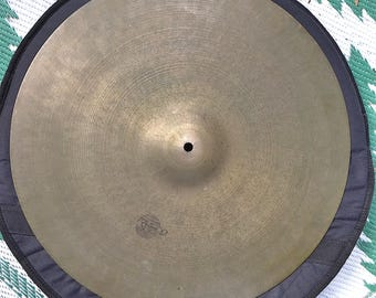 """Vintage Cymbal, 20"""" Tosco Ride Cymbal, Vintage Drums"""
