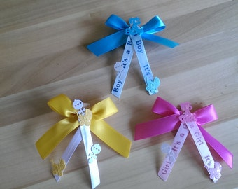 Baby Shower Guest Pin Set of 12