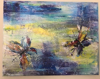 Original painting  ABSTRACT BUTTERFLY