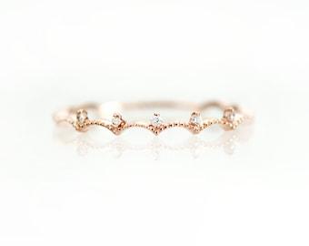 Crown White Diamond Ring, Diamond Ring, Diamond Ring Gold, Ring Diamond, Gold Ring Diamond, Gold Diamond Ring, Diamond Gold Ring, 14k Solid
