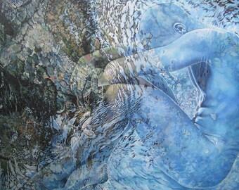 Illusion, Beginnings - Ltd Ed. Giclée Art Print on Canvas by Jane Nicol