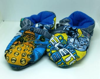 Doctor Who Dalek and Cyberman Baby Booties (Fits Most Size 0 - 18 Months)