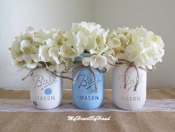 Boy Baby Shower Decorations Blue Centerpieces