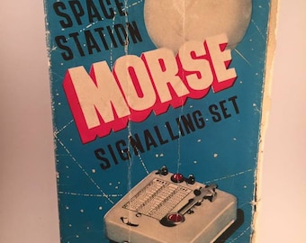 1950's Morse Code Playset