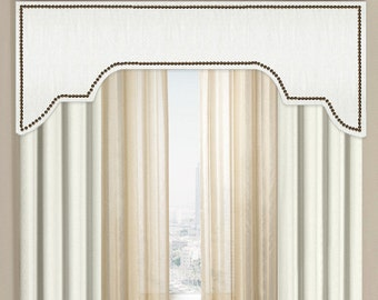 Items Similar To Custom Cornice Window Treatment