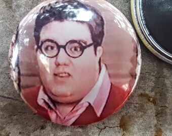 "Pinback or Magnet 2.25"" Rick Better Off Dead 80s Movie Button Fridge Magnet"