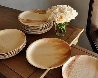Round Disposable Dinner Plates ... & Dinner plates | Etsy