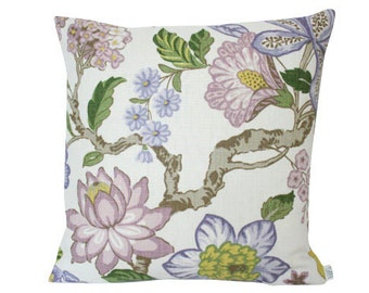 Lavender Huntington Gardens with Lavender Linen Backing