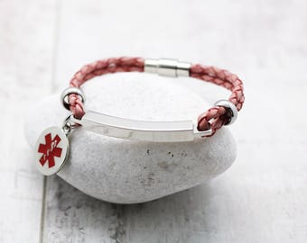 Girls Medical Alert Bracelet
