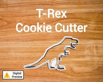 """4"""" T-Rex Cookie Cutter (Dinosaur Set)"""