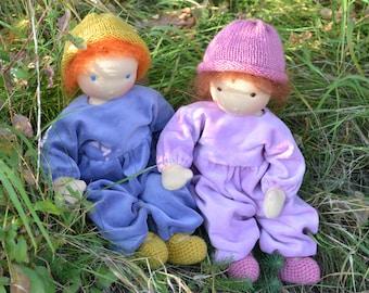 Schnitte und Anleitung für 1000Rehe Puppen deutsch oder englisch erhältlich
